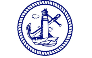 ABCF Logo of lighthouse, anchor, and rope in circle