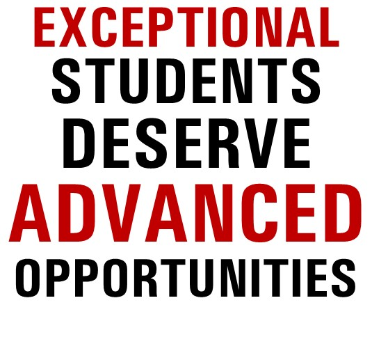 Exceptional Students Deserve Advanced Opportunities